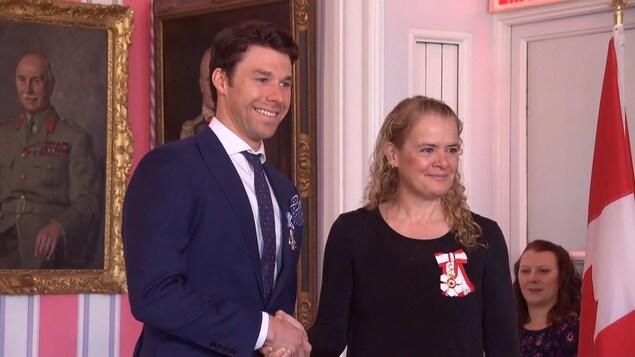 Alex Harvey décoré de l'Ordre du Canada