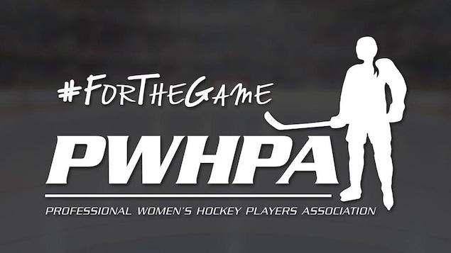 Logo de l'association professionnelle des joueuses de hockey