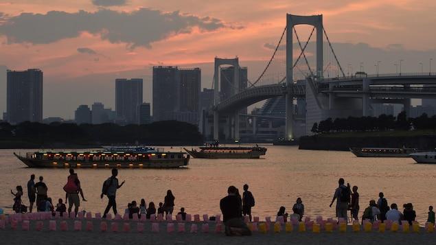 La baie de Tokyo