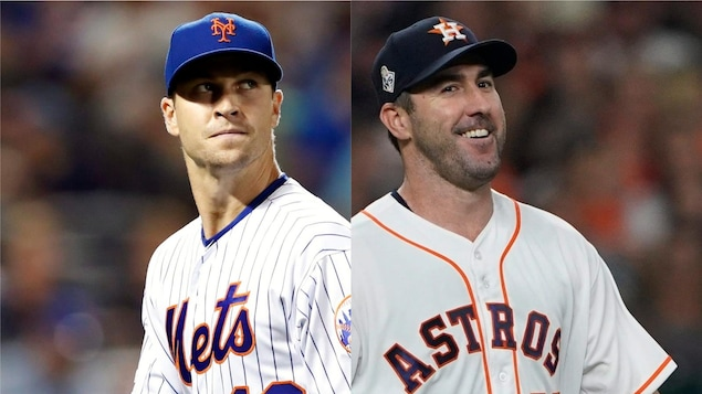 Montage photo des visages des deux joueurs