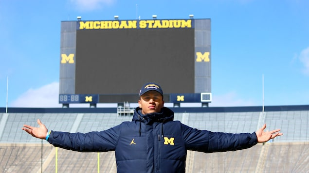 Benjamin St-Juste au Michigan Stadium