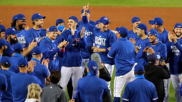 Les Blue Jays de Toronto seront des huit équipes de la Ligue américaine à prendre part aux séries du baseball majeur.