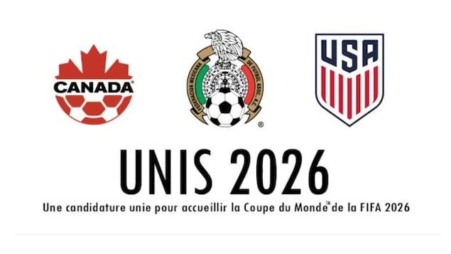 Le Canada, le Mexique et les États-Unis unis pour la Coupe du monde de 2026