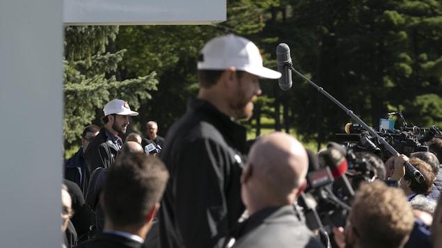 Tournoi de golf du Canadiens de Montréal. Photo prise au club de golf Laval-sur-le-lac à Montréal, Québec, Canada.
