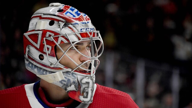 Gros plan de Carey Price