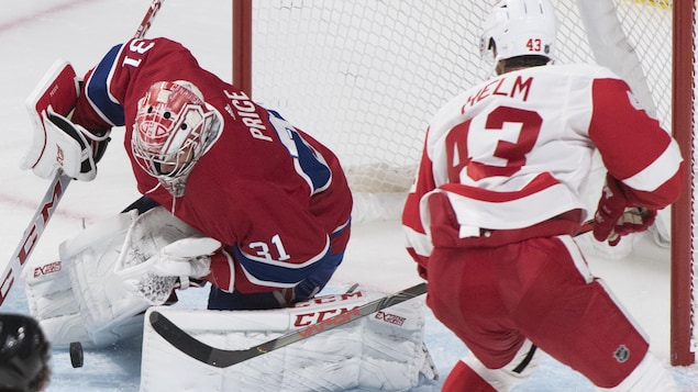 Carey Price et Darren Helm