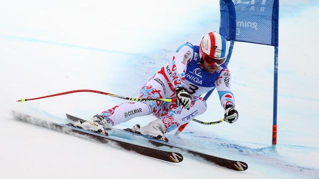David Poisson en route vers la médaille de bronze aux Championnats du monde de 2013