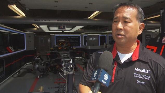 David Tsurusaki, directeur, Mobil motorsports technology