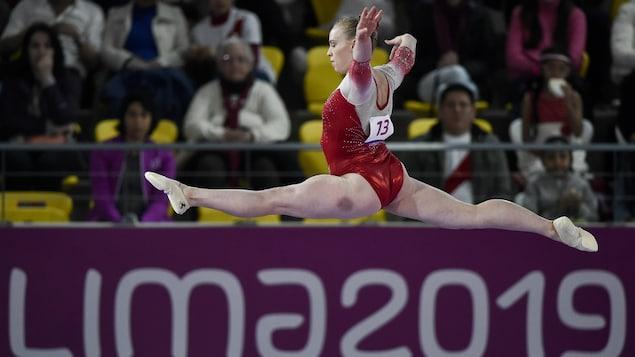 Ellie Black aux Jeux panaméricains