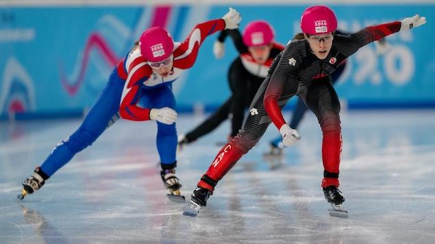 La Canadienne dépasse Petra Rusnakova