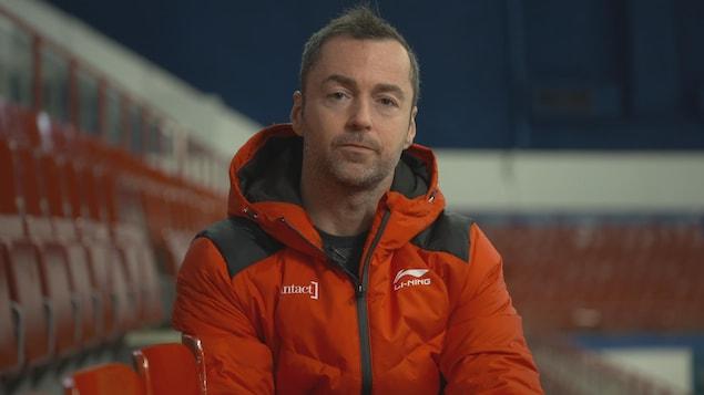Frédéric Blackburn, ex-entraîneur de l'équipe canadienne féminine courte piste