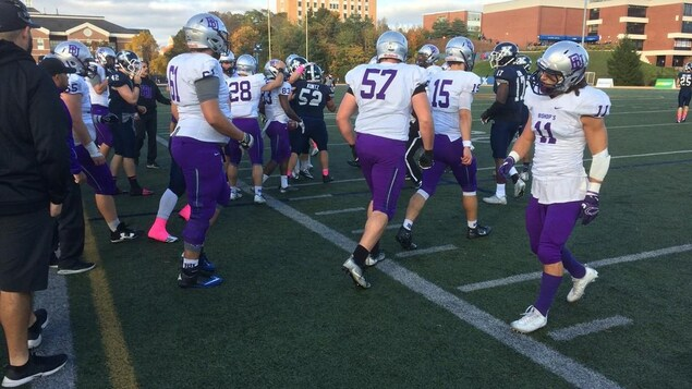 The Gaiters Bishop's concluded their season against the X-Men from St. Francis Xavier University.