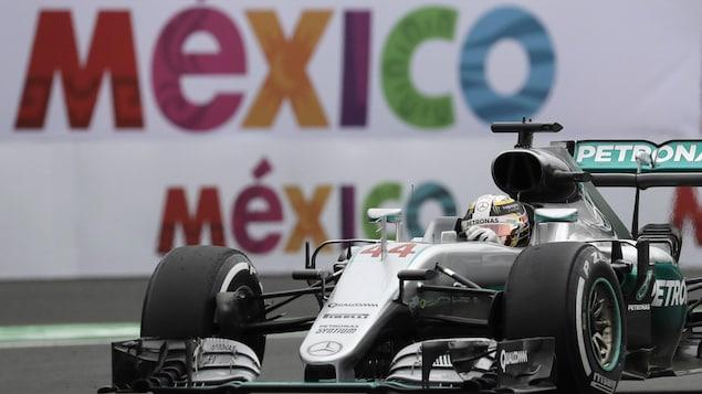 Lewis Hamilton au Grand Prix du Mexique en 2016