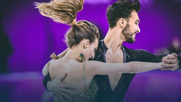 Guillaume Cizeron et Gabriella Papadakis