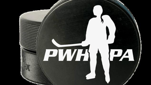 Logo de l'Association des joueuses de hockey professionnelles