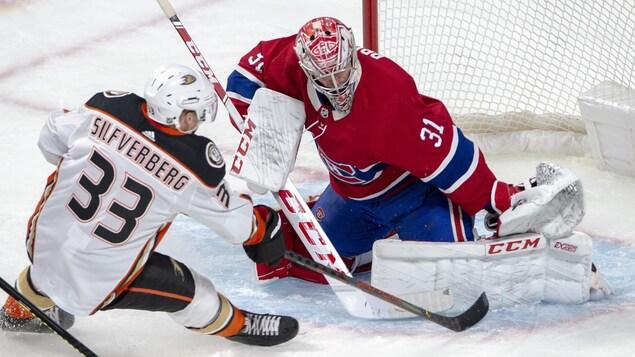 Le Canadien mène contre les Ducks après une période