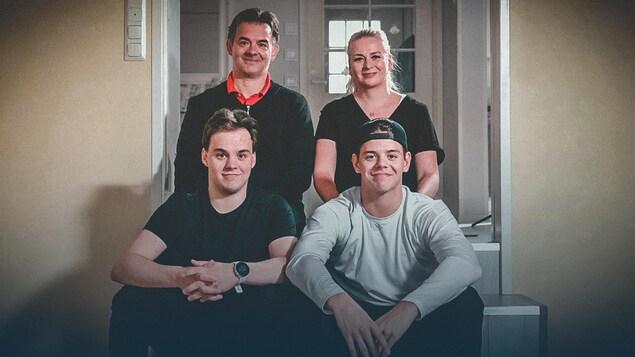 La famille Kotkaniemi