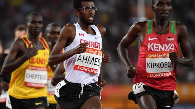 Ahmed en pleine foulée