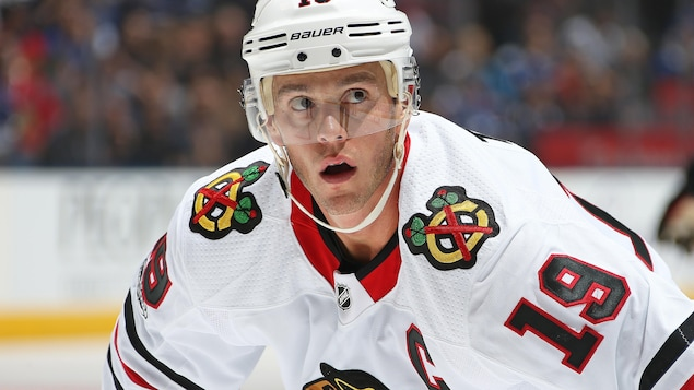 Jonathan Toews, des Blackhawks de Chicago