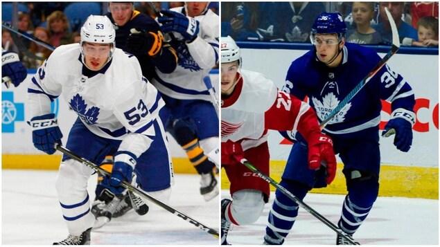 Les nouveaux joueurs de Canadien, Kerby Rychel et Rinat Valiev