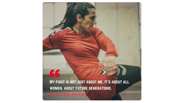 Khalida Popal : «Mon combat ne concerne pas que moi. Mais toutes les femmes, les générations à venir»