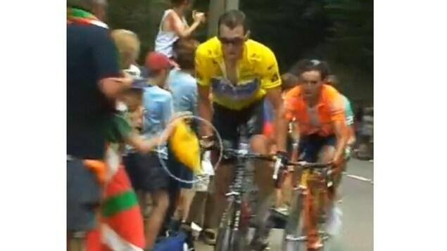 Lance Armstrong au Tour de France de 2003