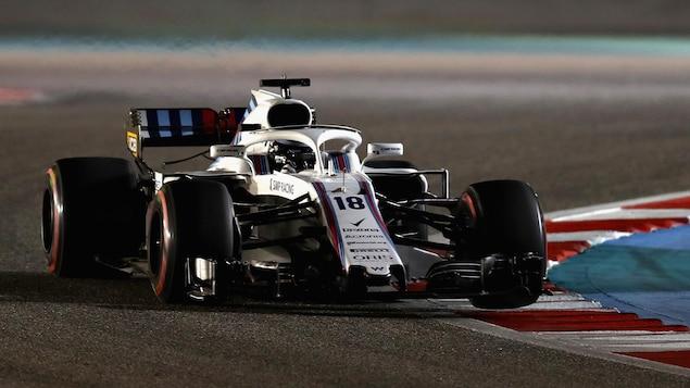 Lance Stroll pendant le Grand Prix de Bahreïn