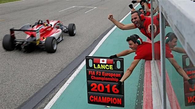 Lance Stroll remporte le Championnat européen de F3 en 2016