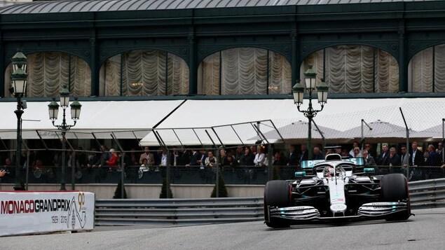 Lewis Hamilton à Monaco
