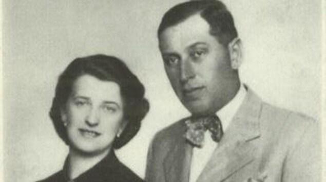 Martha et Jacob Reinitz en 1940
