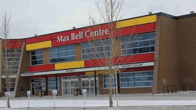 Le Centre Max Bell à Calgary, où ont eu lieu les épreuves de curling en 1988