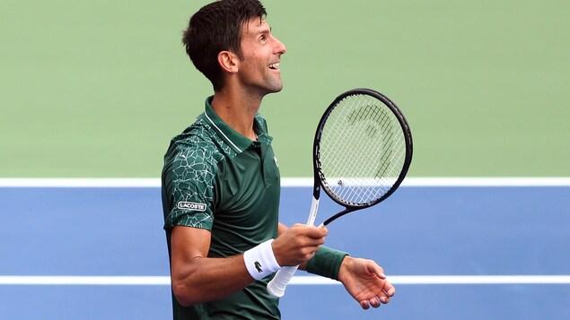 Novak Djokovic est contrarié
