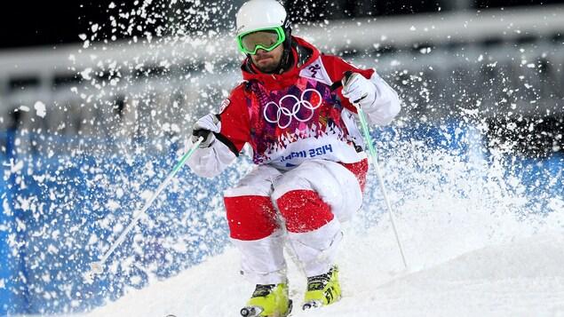 Philippe Marquis aux Jeux olympiques de Sotchi