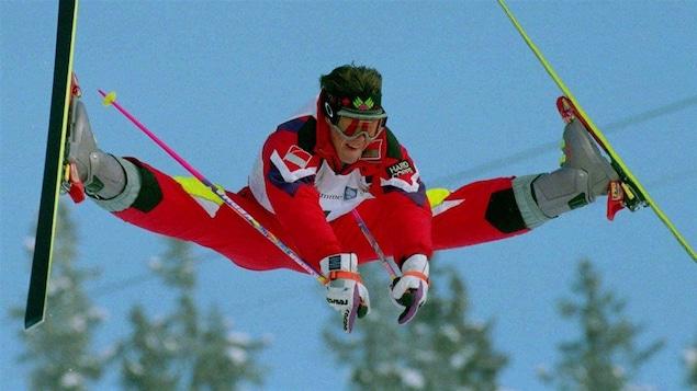Jean-Luc Brassard aux Jeux olympiques de Lillehammer