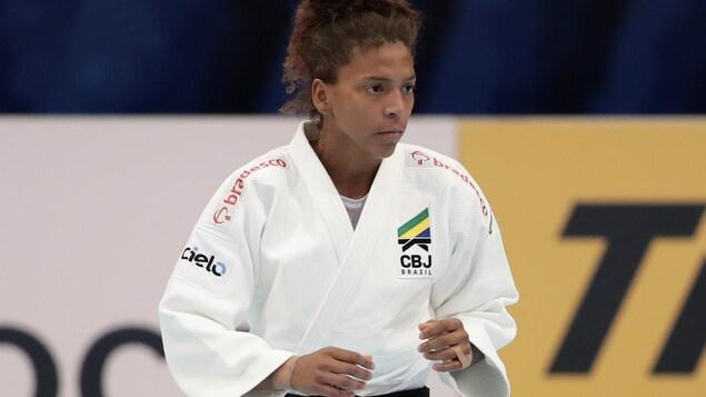 Rafaela Silva à Tokyo lors des Championnats du monde de 2019