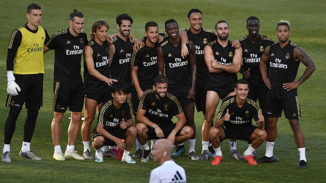 Le Real Madrid au stade Saputo