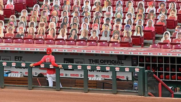 Les Reds de Cincinnati sont la troisième équipe des ligues majeures à avoir des cas positifs à la COVID-19.