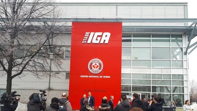 Le stade IGA