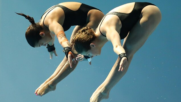 Meaghan Benfeito et Caeli McKay terminent 4es au 10 m synchro