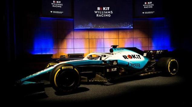 La Williams FW42 avec un nouveau commanditaire en titre pour la saison 2019