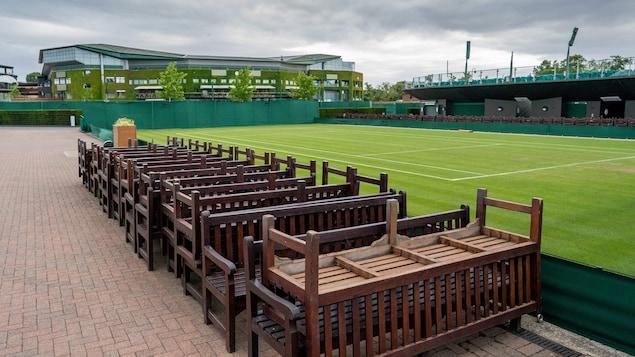 Le tournoi de Wimbledon a été annulé pour une première fois depuis 1945.