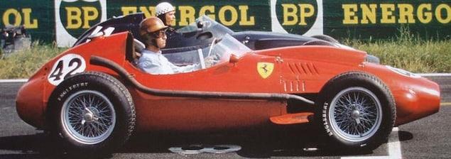 Ferrari F1 246 Dino de la saison 1958