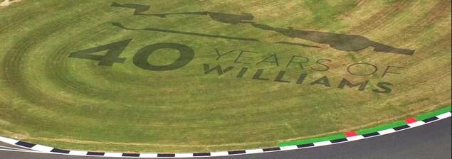 Les 40 ans de l'équipe Williams au circuit de Silverstone
