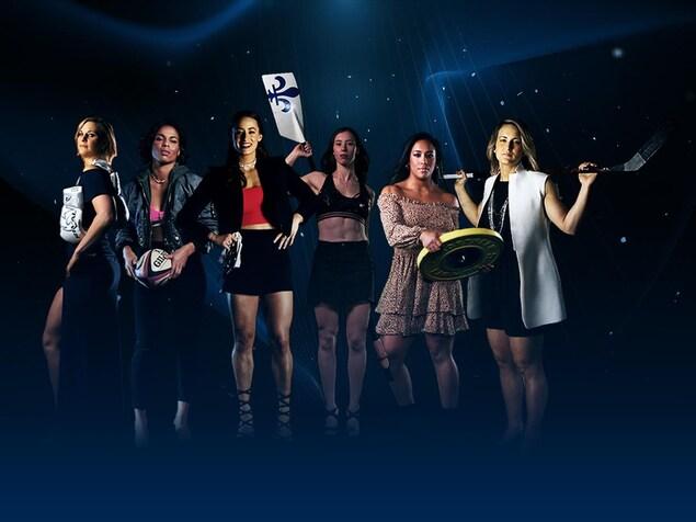 Six athlètes féminines abordent le sujet de leur corps pour Podium.
