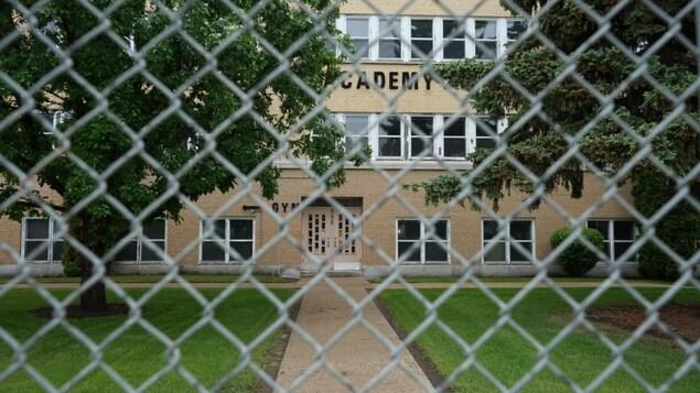L'ancienne Académie Rivier de Prince Albert.