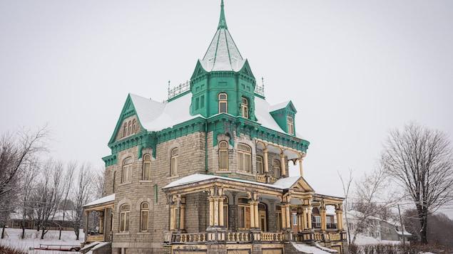 Le Château Richard à l'hiver 2021