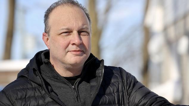 Éric Tremblay, 49 ans, est la première personne à avoir reçu un diagnostic de COVID-19 dans la grande région de Québec.