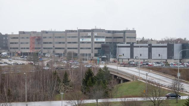 Le Centre hospitalier universitaire Dr-Georges-L.-Dumont.