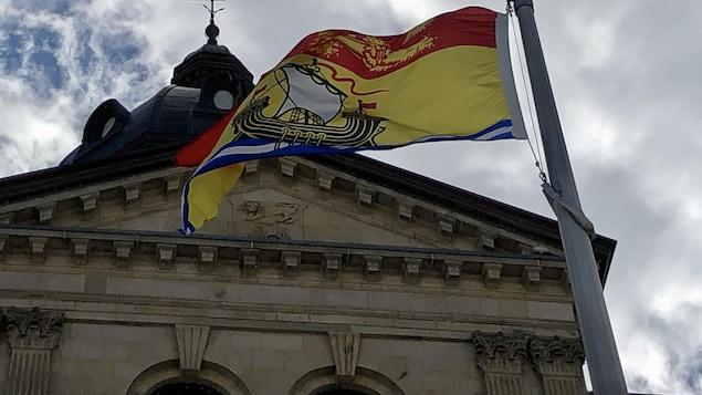 L'édifice de l'Assemblée législative du Nouveau Brunswick.