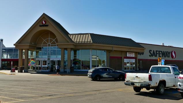 Le magasin Safeway à Regina.